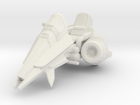 1/18 Terran Vulture Bike in White Natural Versatile Plastic