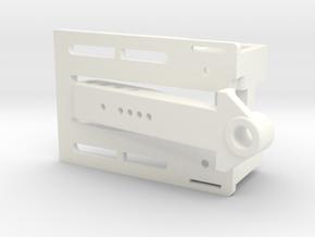 Puente Delantero Compacto 1 24 in White Processed Versatile Plastic