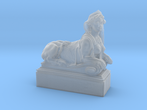 Mythical Sphinx in Smooth Fine Detail Plastic