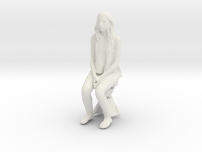 Printle C Femme 054 - 1/35 - wob in White Strong & Flexible