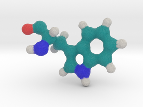 Amino Acid: Tryptophan in Full Color Sandstone
