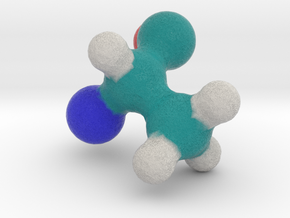 Amino Acid: Alanine in Full Color Sandstone