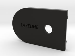 Base Plate For Use With 1 Round Extension sleeve in Black Strong & Flexible