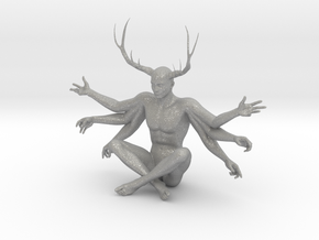 "3"" Six Armed Stag in Aluminum"
