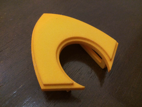 Aquaman Belt Buckle in Yellow Processed Versatile Plastic