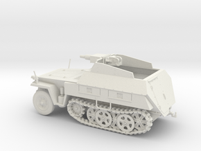 Sd.kfz 250/8 Neue Stummel 1:48 28mm wargames in White Strong & Flexible