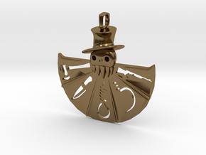 Horror Fan in Polished Bronze