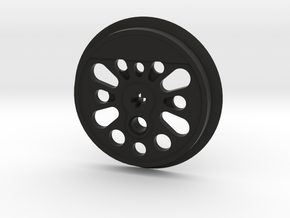 XXL Boxpok Flanged Driver - Large Counterweight in Black Natural Versatile Plastic