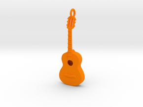Guitar 1702102145 in Orange Processed Versatile Plastic
