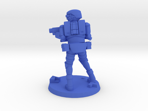 36mm Light Trooper 2 in Blue Processed Versatile Plastic