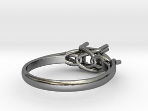 Model-97d2ea6076b89bdbc4a1f745df4935f3 in Fine Detail Polished Silver