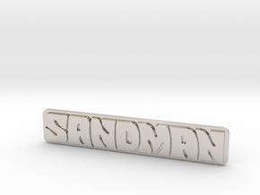 Holden - Panel Van - Sandman Emblem in Rhodium Plated Brass