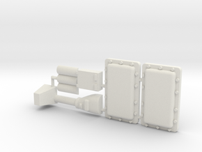 Morgan Oil Pan Plus for Y-Wing in White Natural Versatile Plastic