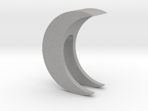 Crescent Moon Webcam Privacy Shade / Cover / Charm in Aluminum