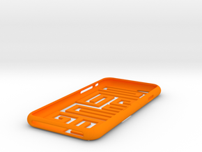 "Iphone 6 "" 9 "" in Orange Strong & Flexible Polished"