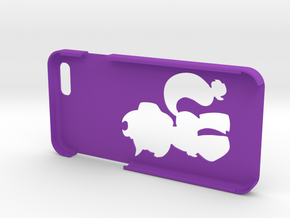 "Iphone 6 ""A Jack"" in Purple Strong & Flexible Polished"
