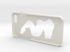 "Iphone 6 ""Big Girl"" in White Natural Versatile Plastic"