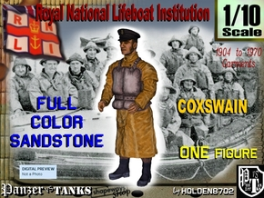 1-10 RNLI COXSWAIN Full Color Sandstone in Full Color Sandstone