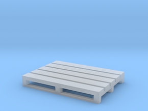 Pallet Coaster 3 in Smooth Fine Detail Plastic