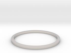 Ring Inside Diameter 16.7mm in Platinum