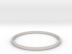 Ring Inside Diameter 20.4mm in Platinum