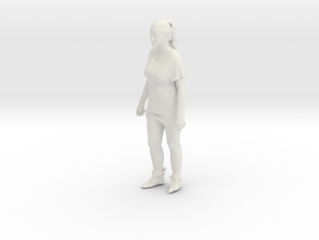 Printle C Femme 092 - 1/35 - wob in White Strong & Flexible