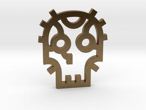 Skull / Cráneo / Calavera in Natural Bronze