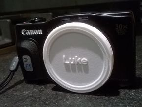 Canon Cap - 58mm (v1) in White Processed Versatile Plastic