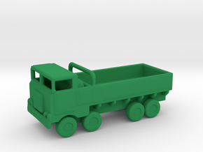 1/285 Scale M656 No Winch in Green Strong & Flexible Polished