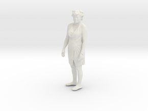 Printle C Femme 104 - 1/35 - wob in White Strong & Flexible