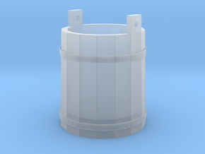 18th Century Pale or Bucket 1/43.5 Scale (7mm) in Smoothest Fine Detail Plastic