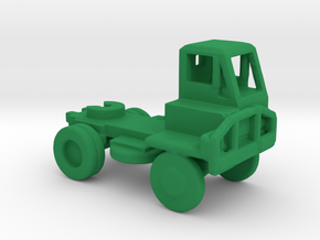 1/285 Scale M878 Tractor in Green Strong & Flexible Polished
