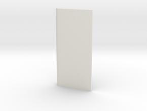 Rudder for Springer Tug in White Natural Versatile Plastic