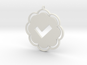 v2me in White Natural Versatile Plastic