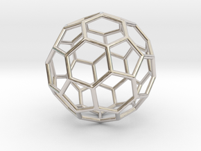 0624 Fullerene c60-ih - Model for the BFI (Bulk) in Platinum