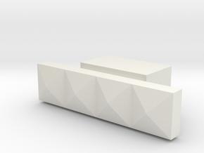 LUX2 in White Natural Versatile Plastic