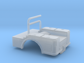 1/64th Pickup Welding Bed in Smooth Fine Detail Plastic