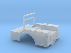 1/87th Pickup Welding Bed in Smooth Fine Detail Plastic