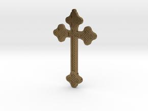 1:6 scale replica cross; Bram Stoker's Dracula in Natural Bronze
