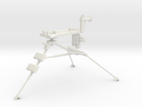 1:18 Lafette Tripod for MG34 or MG42 in White Natural Versatile Plastic