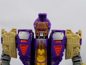 Generations IDW Blitzwing Titans Return Neck Adapt in White Strong & Flexible