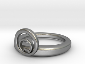 Nouveau Ring 01 in Natural Silver: 7 / 54