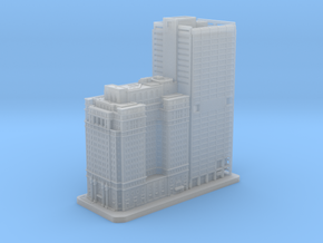 The Phoenix and 1650 Arch Street (1:2000) in Smooth Fine Detail Plastic