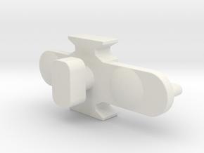 Ikea VIDGA 146962 in White Natural Versatile Plastic