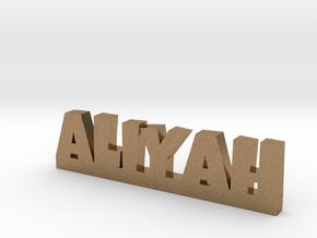 ALIYAH Lucky in Natural Brass