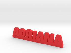 ADRIANA Lucky in Red Processed Versatile Plastic