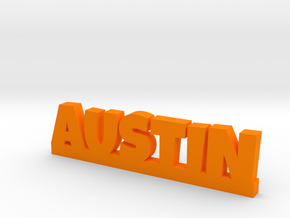 AUSTIN Lucky in Orange Processed Versatile Plastic