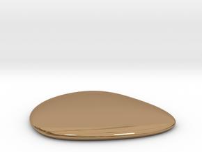 Liquid Drop small 3.5x4 cm in Polished Brass