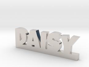 DAISY Lucky in Rhodium Plated Brass