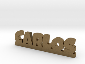 CARLOS Lucky in Natural Bronze